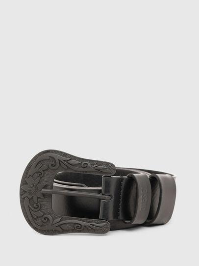 Diesel - B-LONTEX, Black - Belts - Image 1