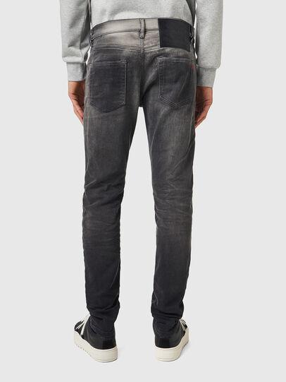 Diesel - D-Strukt JoggJeans® 09B04, Black/Dark grey - Jeans - Image 2