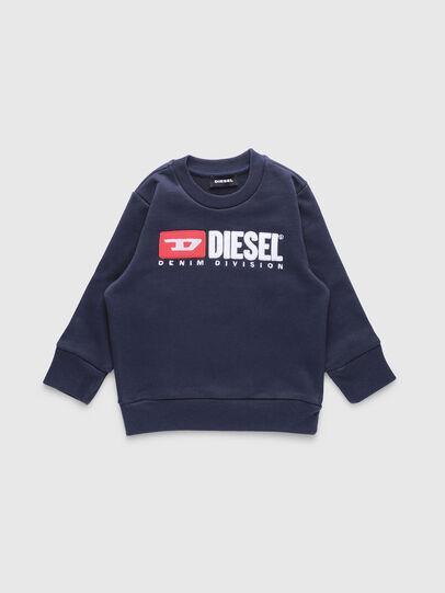 Diesel - SCREWDIVISIONB-R, Dark Blue - Sweaters - Image 1