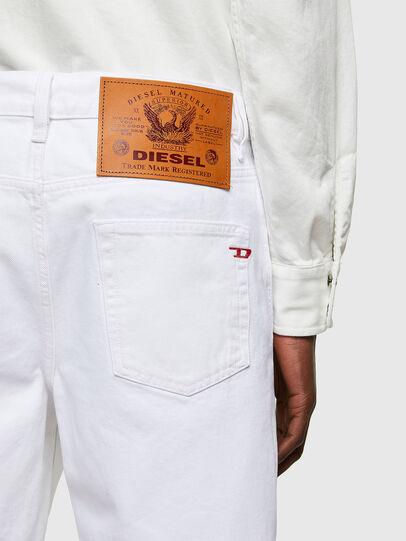 Diesel - D-STRUKT-SHORT, White - Shorts - Image 4