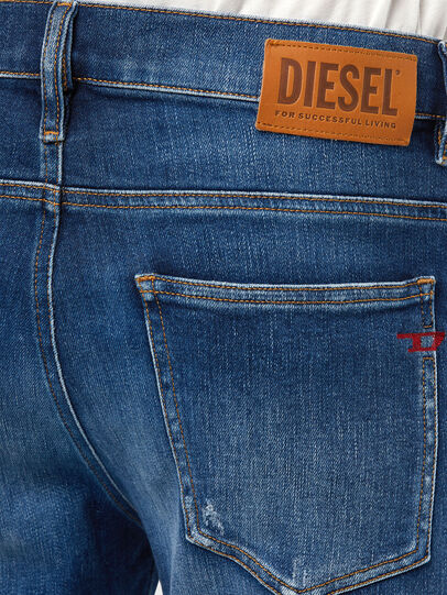 Diesel - D-Istort 009CX, Medium blue - Jeans - Image 5