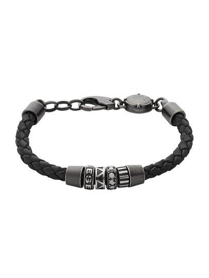 Diesel - BRACELET DX0963, Black - Bracelets - Image 1