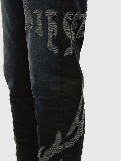 Diesel - D-VIDER JoggJeans® 009HE, Dark Blue - Jeans - Image 4