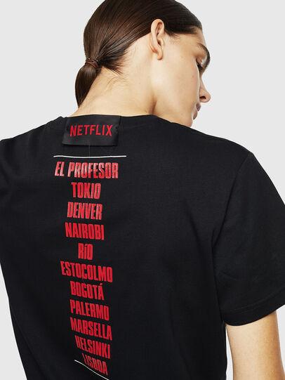 Diesel - LCP-T-DIEGO-CASA, Black - T-Shirts - Image 6