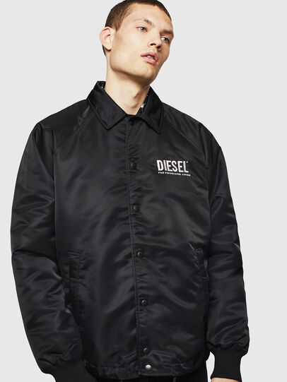Diesel - J-AKIO-A, Black - Jackets - Image 1