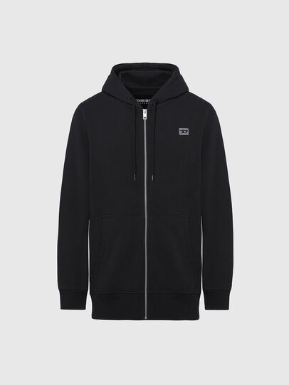 Diesel - UMLT-BRANDON-Z, Black/Silver - Sweaters - Image 1
