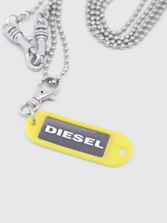 Diesel - A-BRENZONE, Silver - Bijoux and Gadgets - Image 2