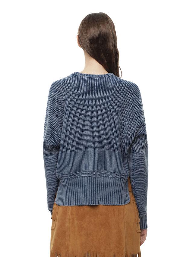 Diesel - MERIB, Light Blue - Knitwear - Image 2