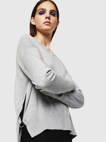 Diesel - M-PERLA, Grey - Knitwear - Image 4