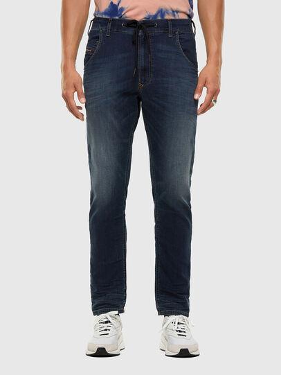 Diesel - KROOLEY JoggJeans® 069NE, Dark Blue - Jeans - Image 1