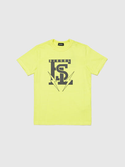 Diesel - TDIEGOB14, Yellow - T-shirts and Tops - Image 1