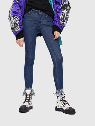 Slandy 088AT, Medium blue - Jeans