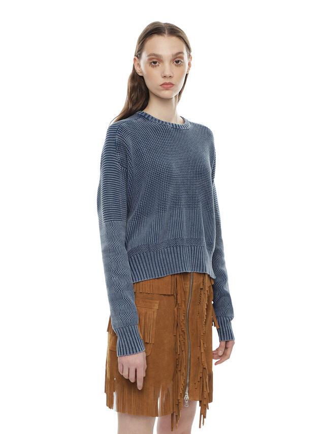 Diesel - MERIB, Light Blue - Knitwear - Image 3