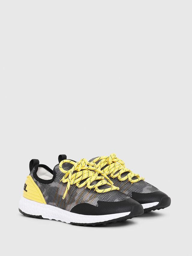 Diesel - SN LOW 10 S-K CH, Gray/Black - Footwear - Image 2