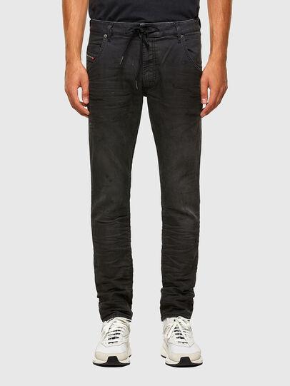 Diesel - KROOLEY JoggJeans® 069QL, Black/Dark grey - Jeans - Image 1