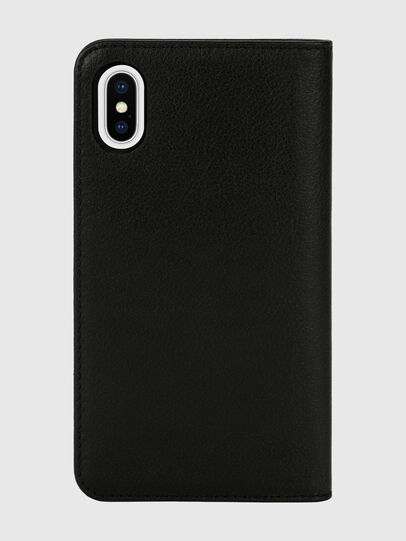 Diesel - DIESEL 2-IN-1 FOLIO CASE FOR IPHONE XS & IPHONE X, Black/White - Flip covers - Image 2