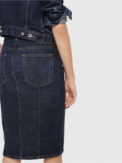 Diesel - DE-PENCIL, Blue - Skirts - Image 3