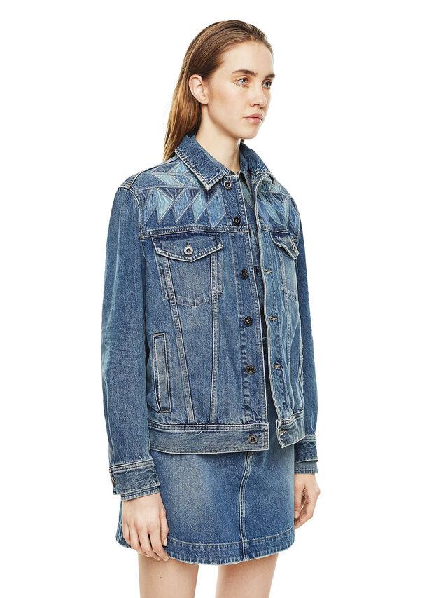 Diesel - WONDERY, Blue Jeans - Jackets - Image 5