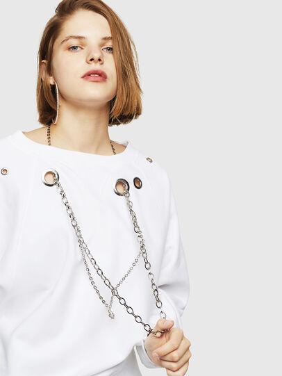 Diesel - F-HENNY-B, White - Sweaters - Image 3