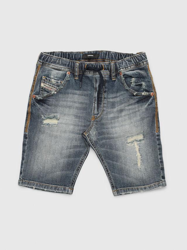 Diesel - KROOLEY-J SH JOGGJEANS, Blue Jeans - Shorts - Image 1