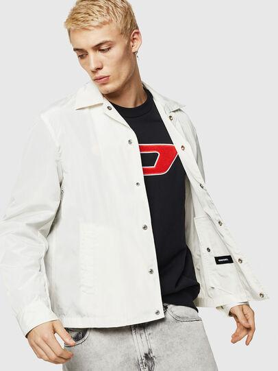 Diesel - J-ROMAN-P, White - Jackets - Image 2