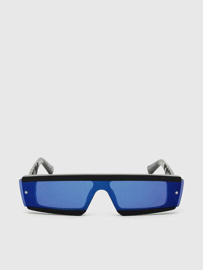 Diesel - DL0318, Black/Blue - Sunglasses - Image 1