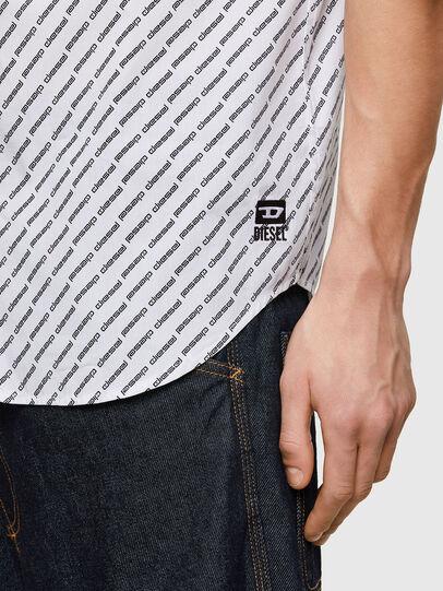Diesel - S-RILEY-SHO-KA-C, White - Shirts - Image 4