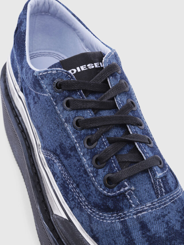 Diesel - H-SCIROCCO LOW, Blue - Sneakers - Image 4