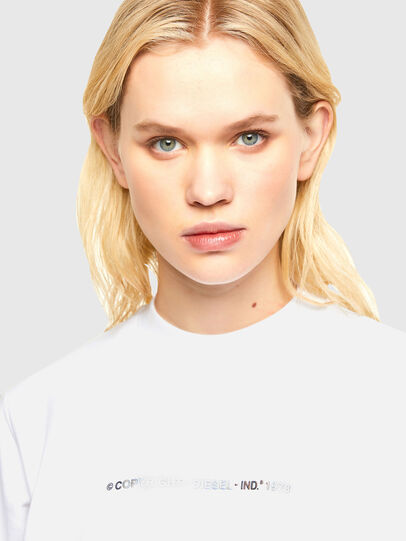 Diesel - F-ANG-COPY, White - Sweaters - Image 3