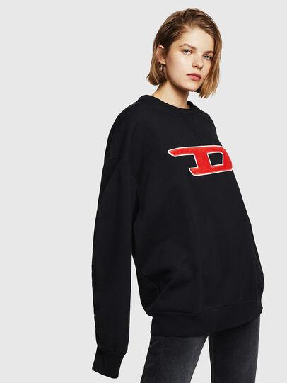Diesel - F-ARAP-A, Black - Sweaters - Image 1