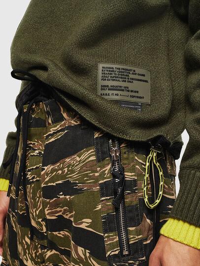 Diesel - K-PILOT, Military Green - Knitwear - Image 5