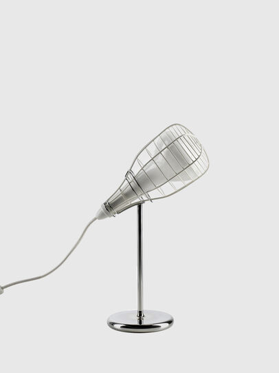 Diesel - CAGE MIC BIANCO, White - Table Lighting - Image 1