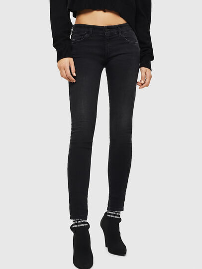 Diesel - Slandy Low 069GG, Black/Dark grey - Jeans - Image 1