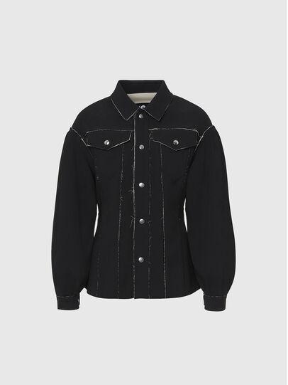 Diesel - G-ALBA, Black - Jackets - Image 1
