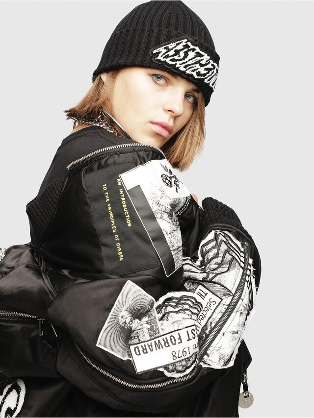 Diesel - G-KRISTA-C, Black - Jackets - Image 4