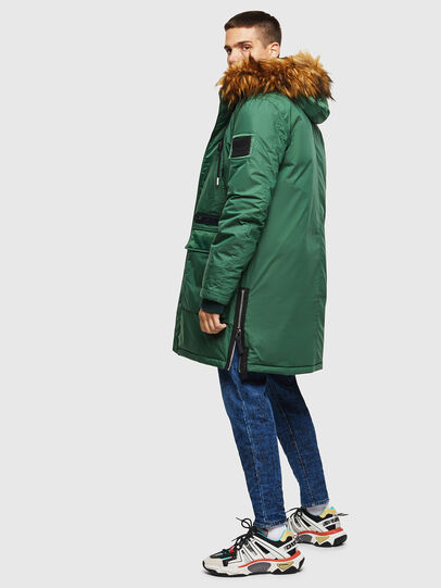 Diesel - W-BULLISK, Dark Green - Winter Jackets - Image 6