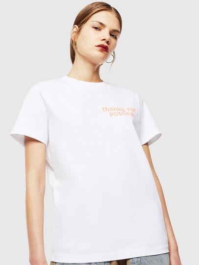 Diesel - T-DIEGO-J20, White - T-Shirts - Image 2