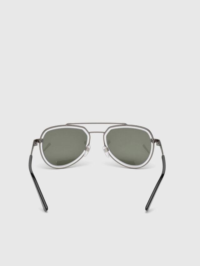 Diesel - DL0266, Black/Grey - Eyewear - Image 4
