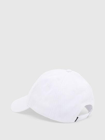 Diesel - CAP-CUTY, White - Caps - Image 2