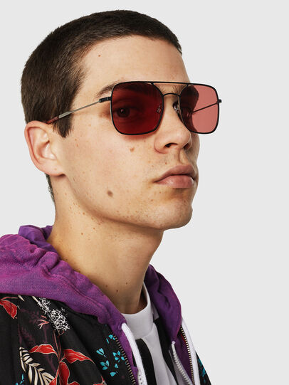 Diesel - DL0302, Pink/Black - Sunglasses - Image 6