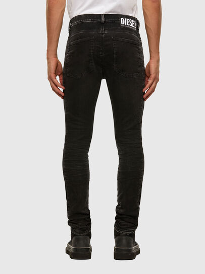 Diesel - D-REEFT JoggJeans® 009FY, Black/Dark grey - Jeans - Image 2