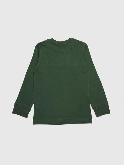 Diesel - TJUSTDIVISION ML, Dark Green - T-shirts and Tops - Image 2
