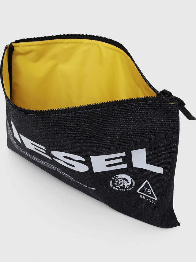 Diesel - LUSINA II, Blue Jeans - Continental Wallets - Image 3