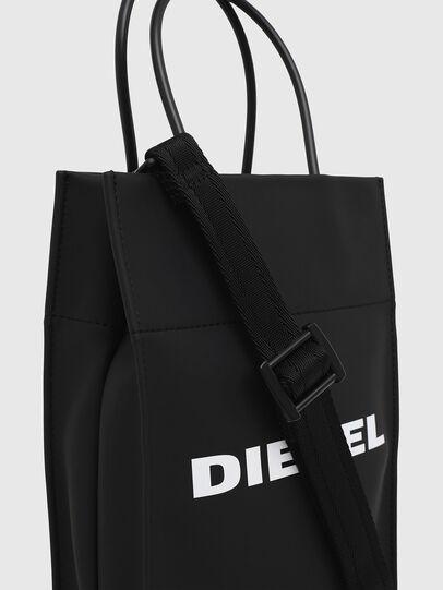 Diesel - SAKETTINO, Black - Shopping and Shoulder Bags - Image 4
