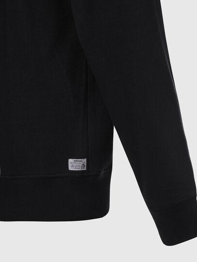 Diesel - UMLT-BRANDON-Z, Black/Silver - Sweaters - Image 4