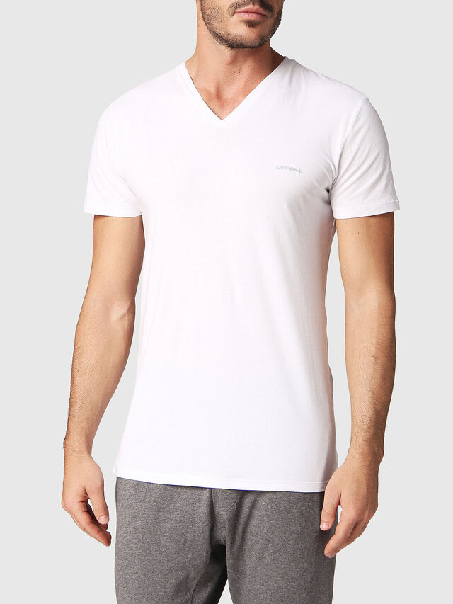 Diesel - UMTEE-MICHAEL2PACK, White - Tops - Image 2