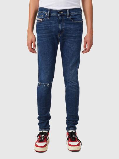 Diesel - D-Istort 09B31, Dark Blue - Jeans - Image 1