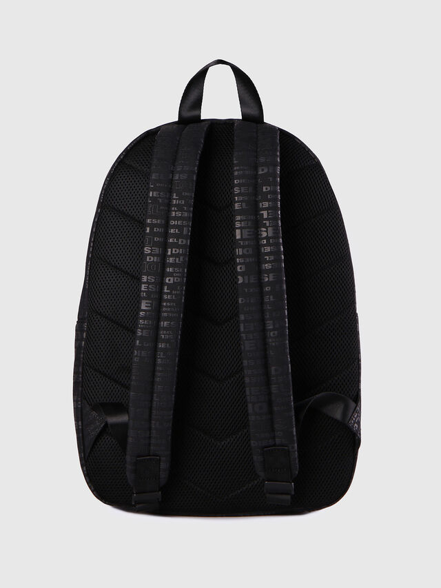 Diesel - F-DISCOVER BACK, Black/Red - Backpacks - Image 3
