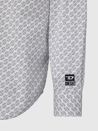 Diesel - S-RILEY-KA, White - Shirts - Image 3