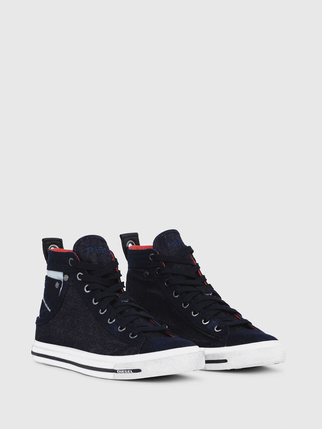 Diesel - EXPOSURE IV W, Dark Blue - Sneakers - Image 2